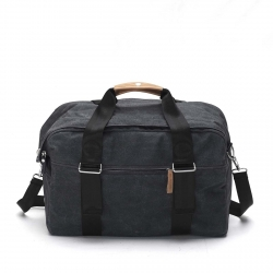 Qwstion Weekender Tasche New Washed Black grau
