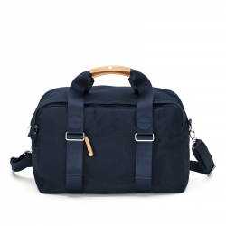 Qwstion Weekender Tasche Organic Navy Blau grau