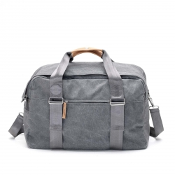 Qwstion Weekender Tasche Washed Grey grau