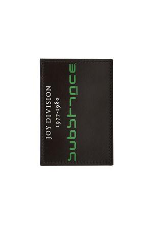 Raf Simons  Bedrucktes Karten-Etui aus Leder