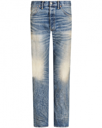 Ralph Lauren Jeans Low Straight RRL grau
