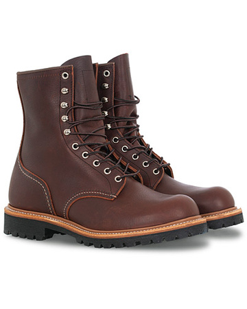 Red Wing Stiefel von  Shoes. Grösse: US8 - EU41. Farbe: Braun.  Shoes Logger Boot Briar Oil Slick Leather Herren braun