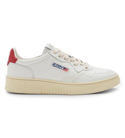 Autry Sneaker 'Medalist' weiß/rot braun