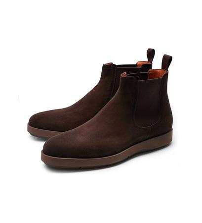 Santoni Chelsea Boot braun schwarz