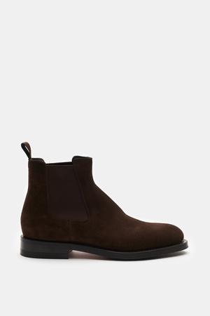 Santoni  - Herren - Chelsea Boot braun