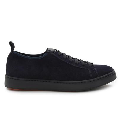 Santoni Sneaker navy schwarz