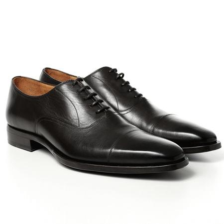 Schuhe & Handwerk Herren Business-Schuh, schwarz schwarz