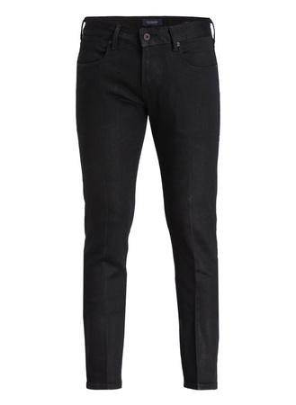 Scotch & Soda  Coated-Jeans TYE Slim Carrot-Fit schwarz