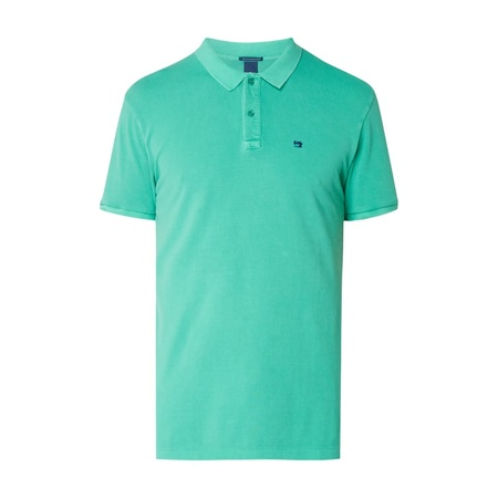 Scotch & Soda Poloshirt mit Logo-Stickerei