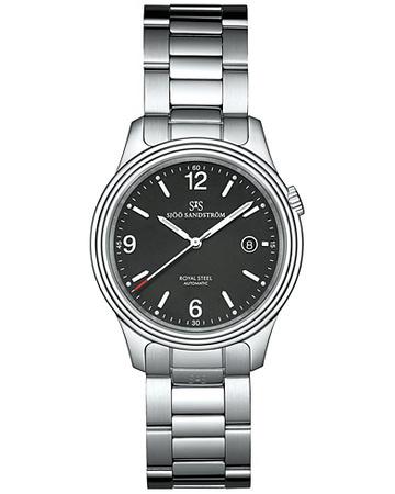 Sjöö Sandström Uhren von . Grösse: One size. Farbe: Silber.  Royal Steel Classic Black with Steel 41 mm Herren grau