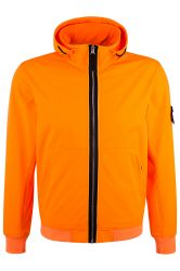 Stone Island Herren Softshelljacke Light Soft Shell-R Orange orange