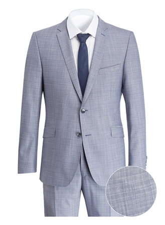 Strellson  Anzug ALLEN-MERCER Slim-Fit grau