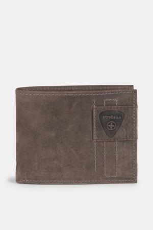 Strellson  Geldbörse Richmond, vintage-braun Herren 1 vintage-braun grau