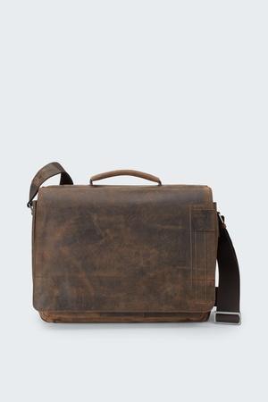Strellson  Messenger Bag Richmond, vintage-braun Herren 1 vintage-braun grau