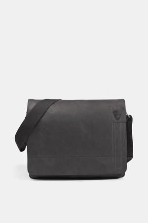 Strellson  Messenger Bag Richmond, vintage-schwarz Herren 1 vintage-schwarz grau