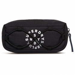 Superdry Pencilcase Surplus Goods Black Marl schwarz