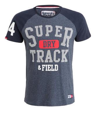 Superdry  T-Shirt TRACKSTER BASEBALL