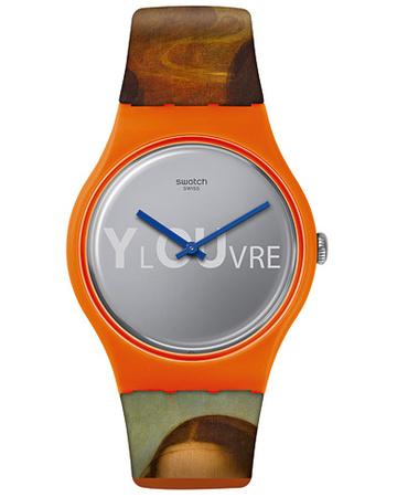 Swatch Uhren von . Grösse: One size. Farbe: Mehrfarbig,Orange.  Lisa Masquee Portrait Herren grau
