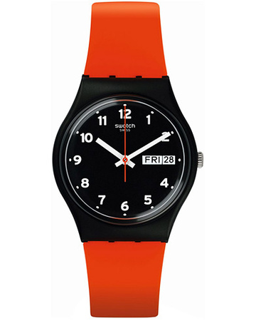 Swatch Uhren von . Grösse: One size. Farbe: Rot.  Red Grin
