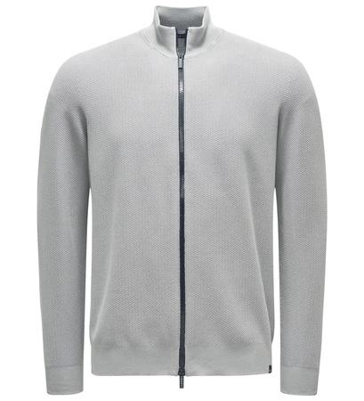 04651/ Sylt Strickjacke grau grau