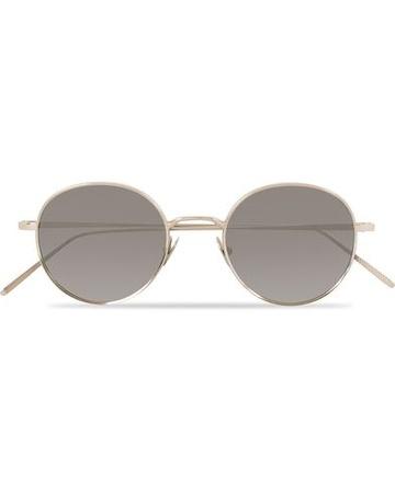 TBD Eyewear Runde Sonnenbrillen von . Grösse: One size. Farbe: Silber.  Ulster Sunglasses Rhodium Herren braun