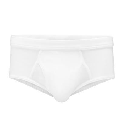 The White Briefs  - Sport Slip 'Platan' weiß