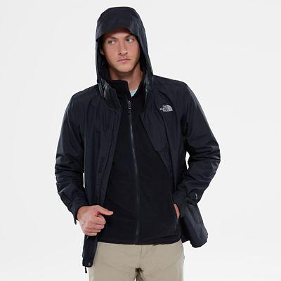 TheNorthFace The North Face Herren Evolution Ii Zip-in Triclimate® Jacke Tnf Black Größe L Men weiss