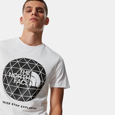 TheNorthFace The North Face Herren Geodome T-shirt Tnf White Größe L Herren