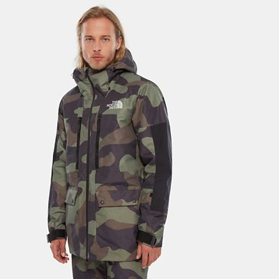 TheNorthFace The North Face Herren Goldmill Parka Four Leaf Clover Terracamoprt Größe L Men grau