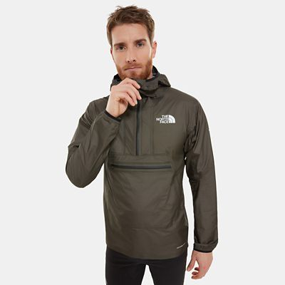TheNorthFace The North Face Herren Summit Series L5 Vrt Futurelight™ Verstaubarer Anorak New Taupe Größe L Men grau