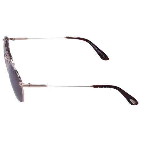 Tom Ford  Sonnenbrille Aviator 339 Acetat Metall braun gold grau