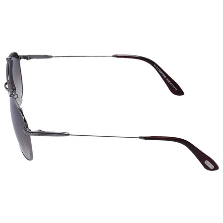 Tom Ford  Sonnenbrille Aviator 339 Metall schwarz grau