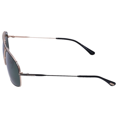 Tom Ford  Sonnenbrille Aviator 467 Metall gold grau