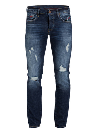 True Religion  Destroyed-Jeans NEW ROCCO Relaxed Skinny-Fit