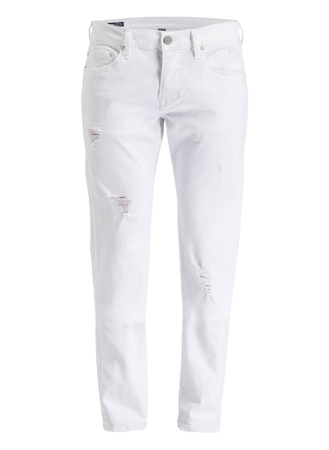 True Religion  Destroyed-Jeans ROCCO Relaxed Skinny-Fit lila