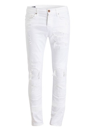 True Religion  Destroyed-Jeans ROCCO Skinny-Fit
