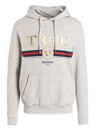 True Religion  Hoodie grau