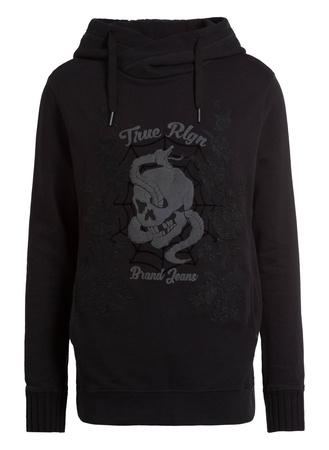 True Religion  Hoodie schwarz