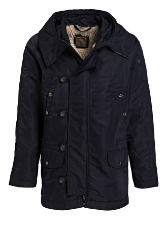 True Religion  Parka schwarz