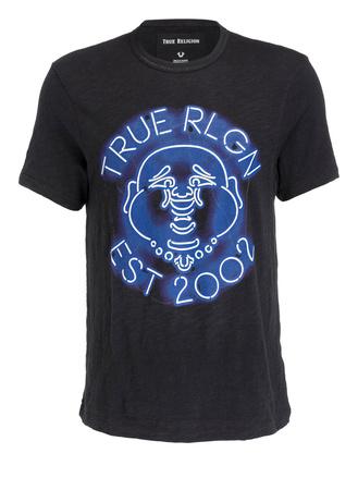 True Religion  T-Shirt schwarz