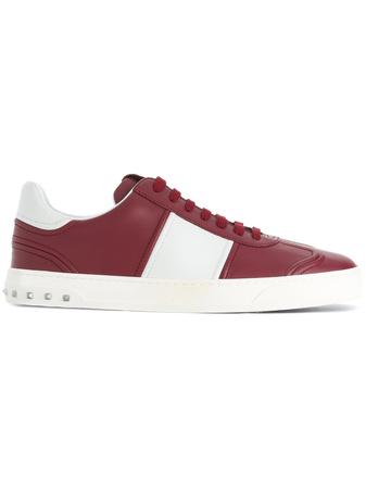 Valentino   Garavani 'Flycrew' Sneakers - Rot