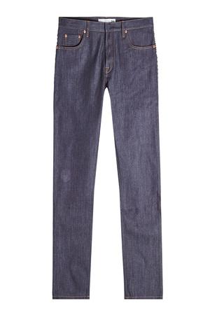 Valentino  Straight Leg Jeans mit Rockstud-Nieten - Blau Gr. 34 grau