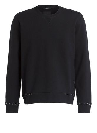 Valentino  Sweatshirt ROCKSTUD UNTITLED schwarz