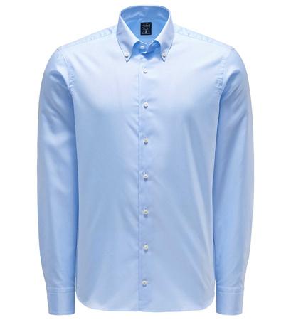 van Laack Oxfordhemd 'Malin' Button-Down-Kragen pastellblau blau