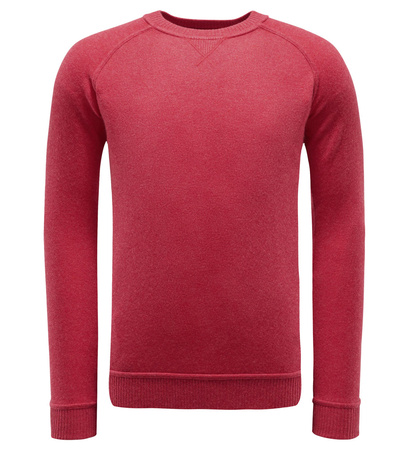 Von Braun Cashmere R-Neck Pullover rot pink