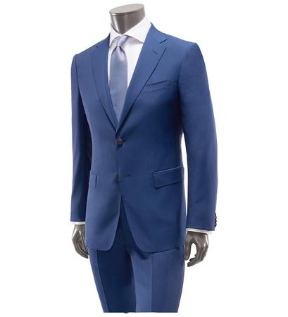 Z Zegna Anzug 'Solferino' blau