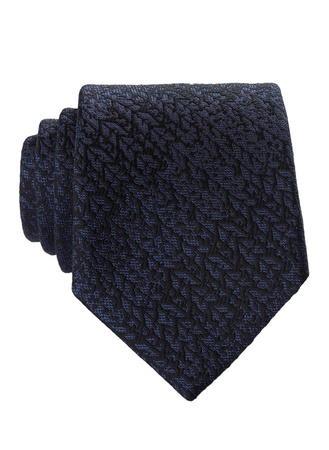 Z Zegna ZZegna Krawatte schwarz