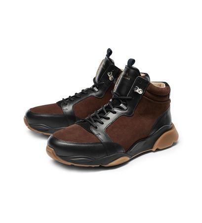 Zespa Aix-en-Provence High Top Sneaker 'ZSP7 MT' braun schwarz